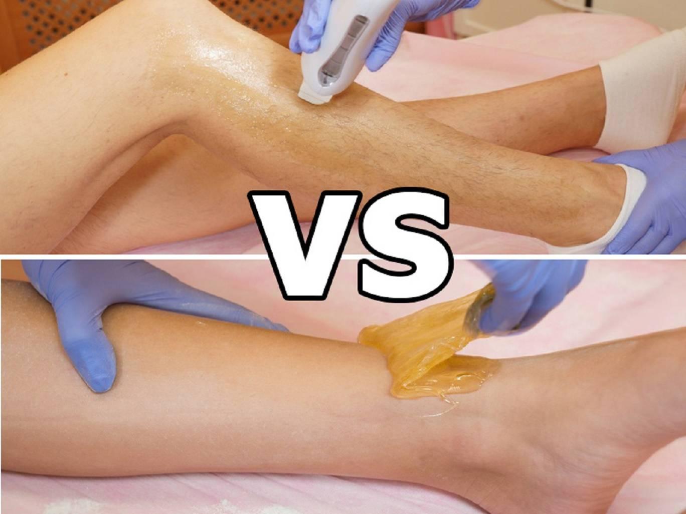 Как провести депиляцию ног воском — правила и рекомендации