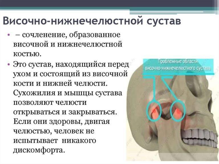 Болит челюсть возле уха (справа, слева, при жевании): причины, как лечить?