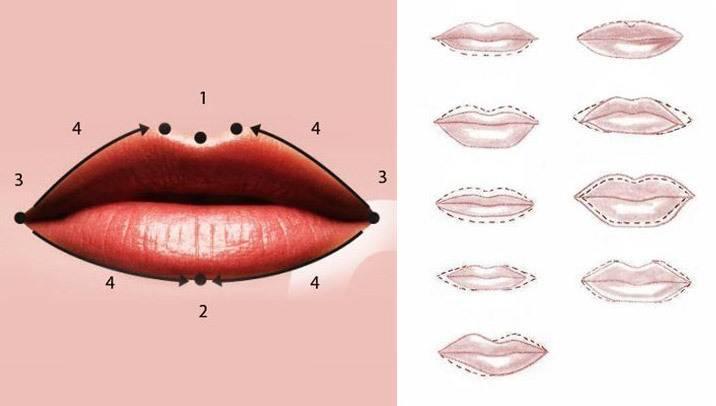Как красить губы: варианты макияжа губ