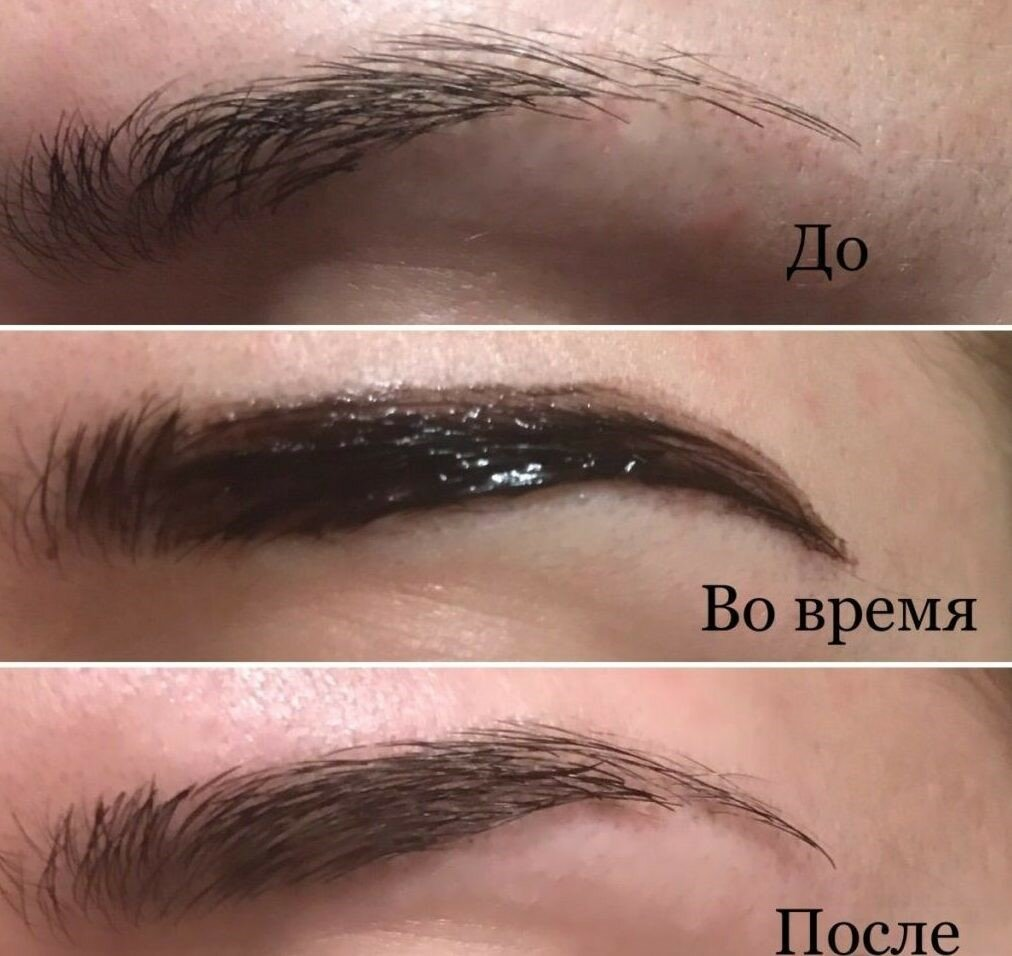 Пошаговая инструкция: как красить брови хной в домашних условиях