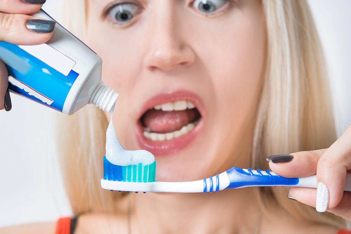 Зубная паста польза и вред