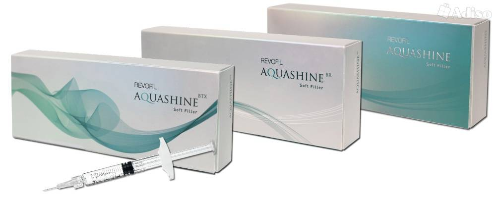 Препарат аквашайн для биоревитализации