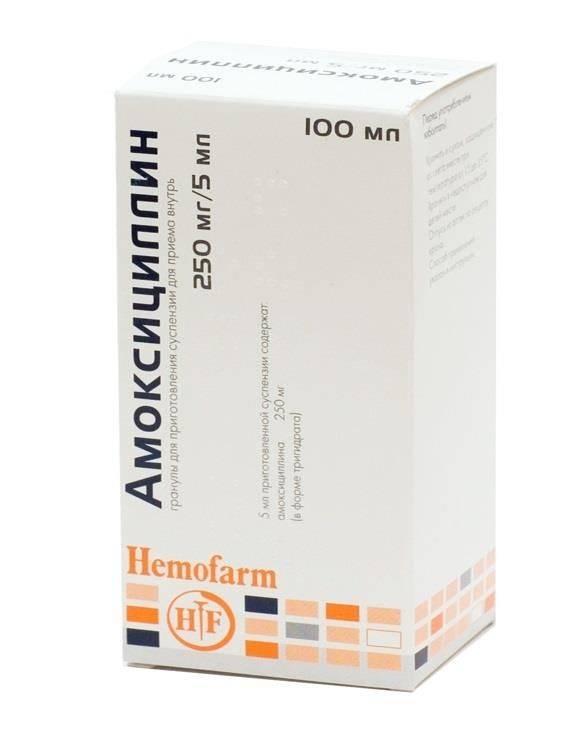 Инструкция по применению и дозировка амоксициллина взрослым, детям и при беременности