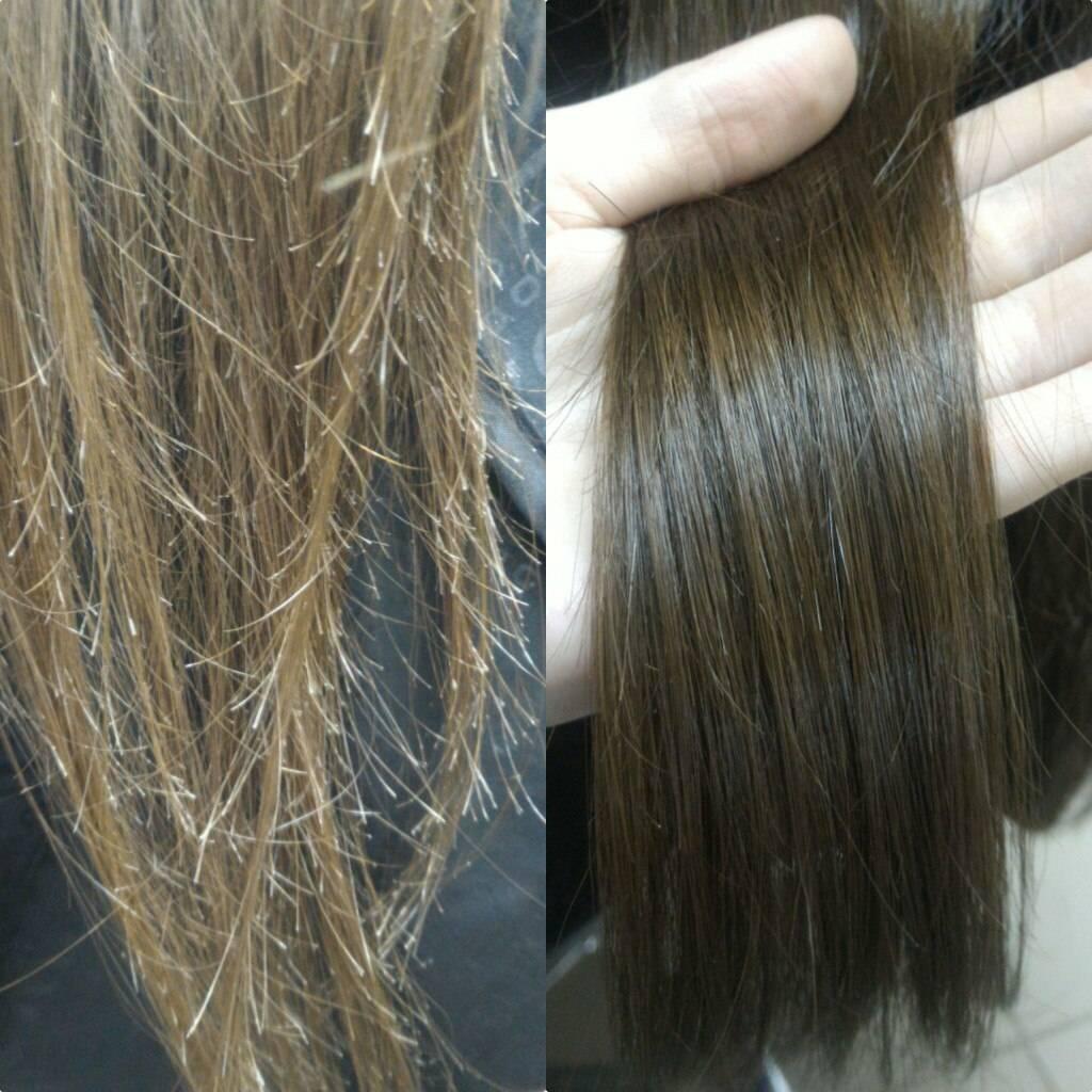 Особенности метода полировки волос. что говорят женщины