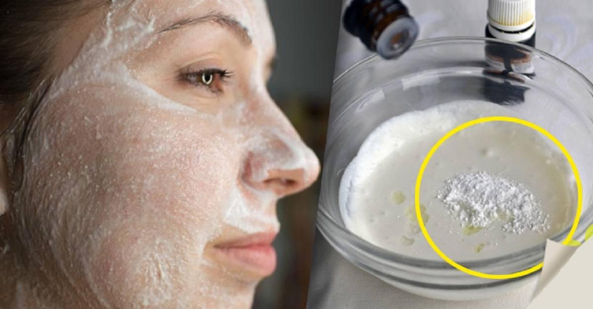 Терапия для увядающей и проблемной кожи – маска для лица с кефиром