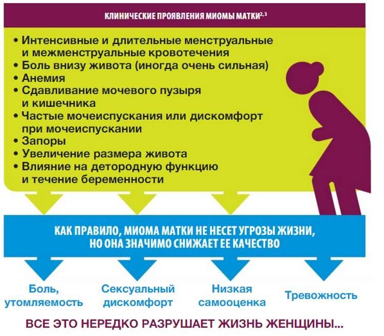 Простые и эффективные народные средства лечения миомы матки
