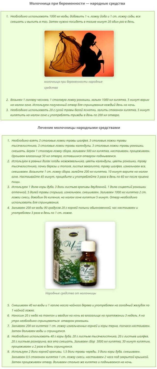 Лечение молочницы марганцовкой