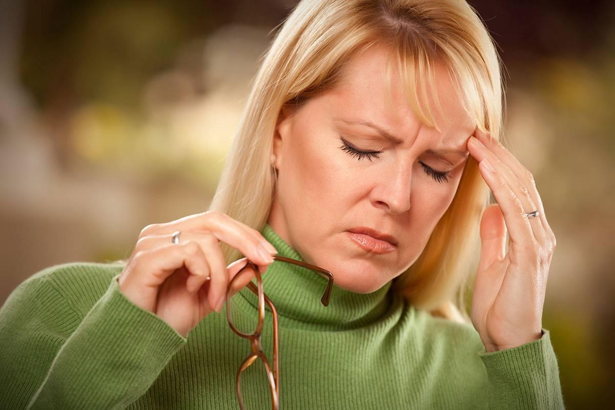 Боли внизу живота и пояснице при климаксе