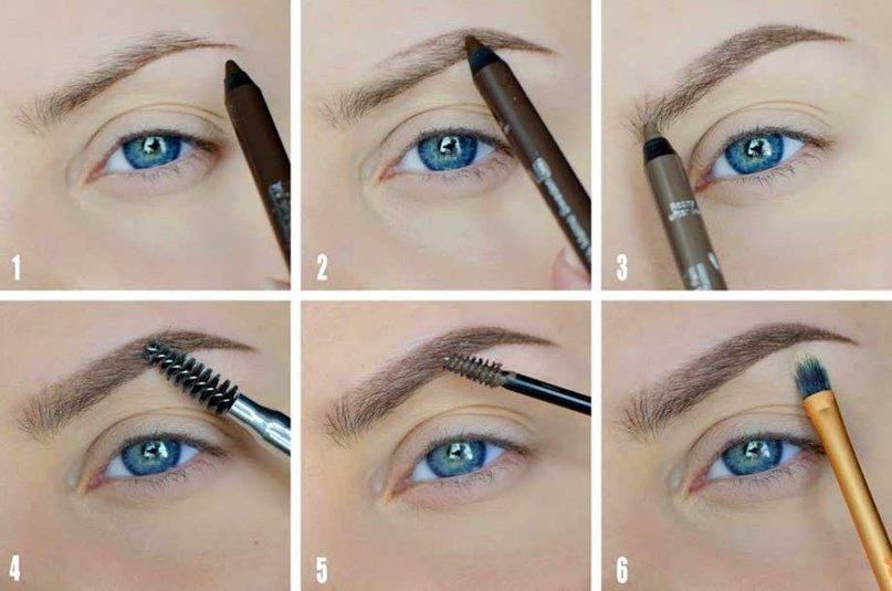 Карандаш или тени для бровей: что лучше и как пользоваться