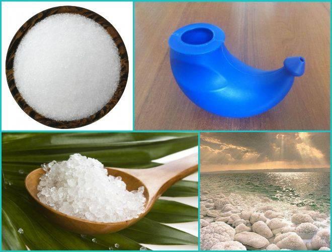 Промывание носа солевым раствором: как правильно делать в домашних условиях