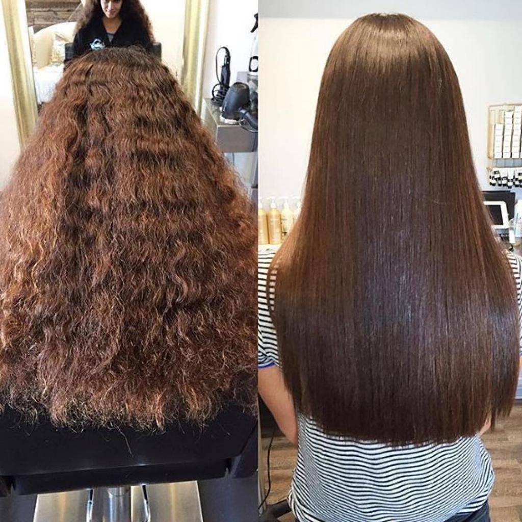 Кератиновое выпрямление волос в домашних условиях: пошаговая инструкция, средства, отзывы