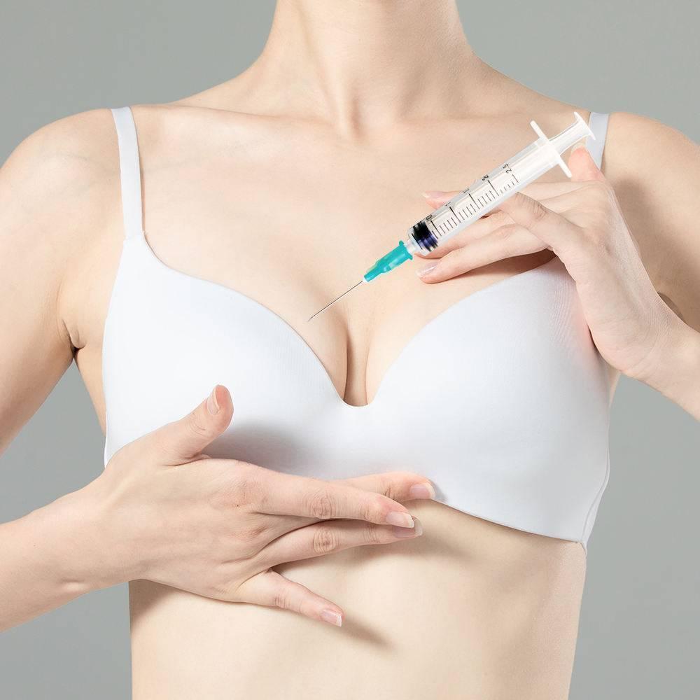 Особенности увеличения груди уколами гиалуроновой кислоты