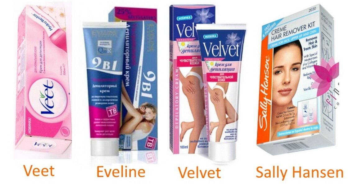 Как выбрать крем для депиляции усиков на лице, для удаления волос на ногах и в интимной зоне
