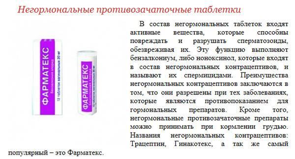 Низкодозированные противозачаточные таблетки