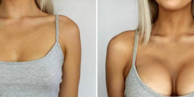 Реально ли увеличить грудь в домашних условиях за неделю?