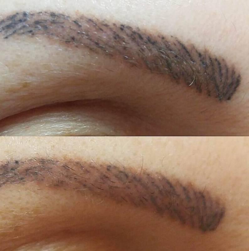 Можно ли сделать микроблейдинг на старый татуаж бровей
