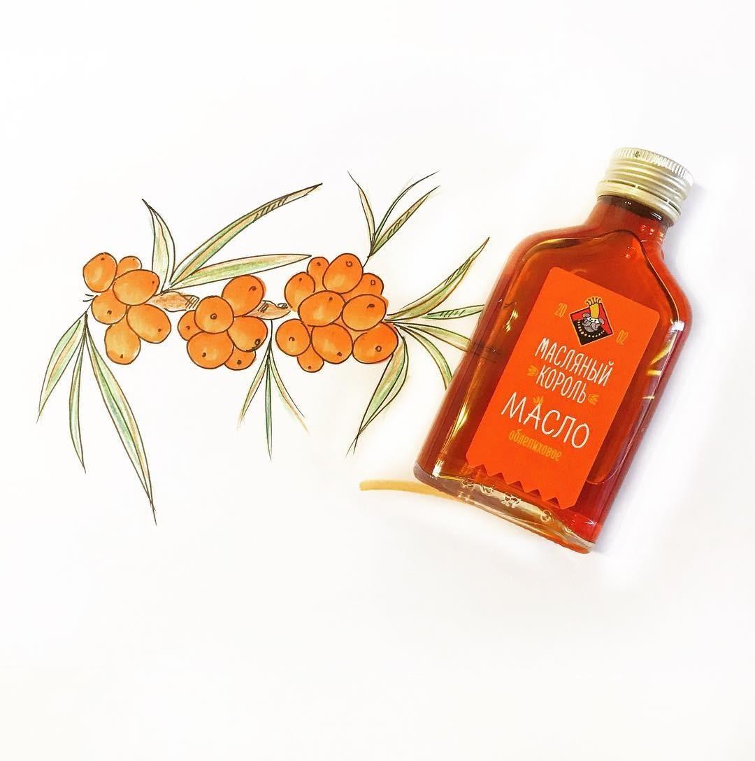 Облепиховое масло: лечебные свойства и применение.