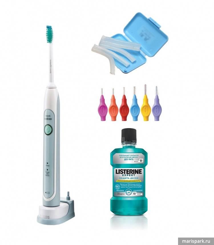 Зубная щетка для брекетов: разновидности изделий для чистки