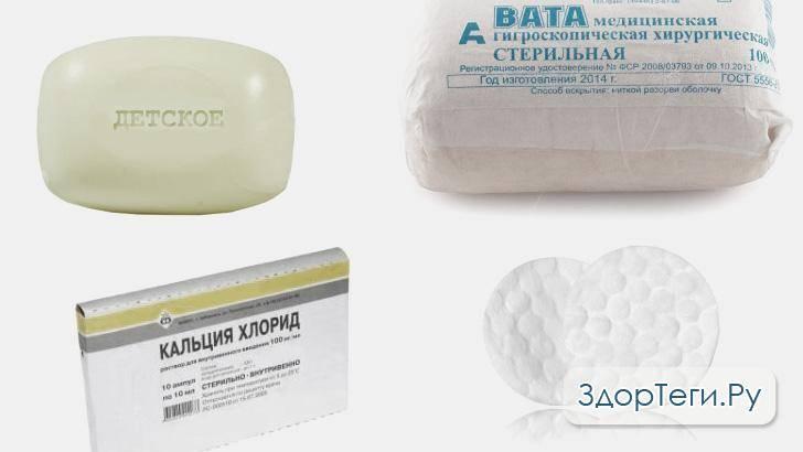 Особенности проведения пилинга с детским мылом и кальцием хлоридом