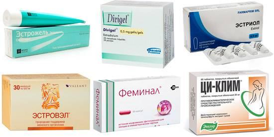 Разновидность эстрогена в таблетках