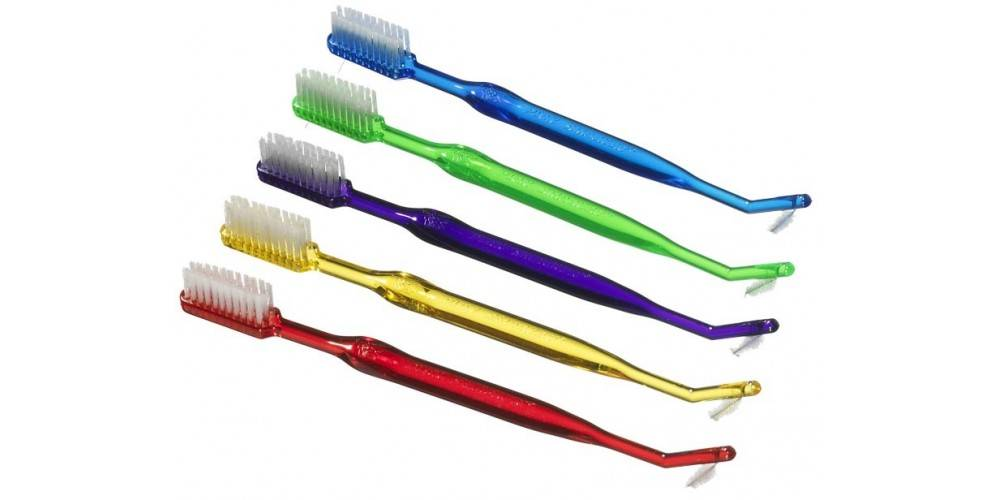 Виды и применение зубной щетки для брекетов