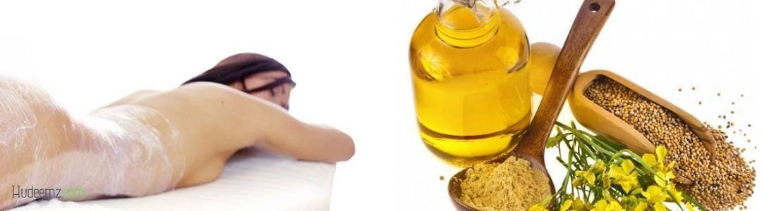 Антицеллюлитные обертывания с горчицей — прогреем нашу кожу