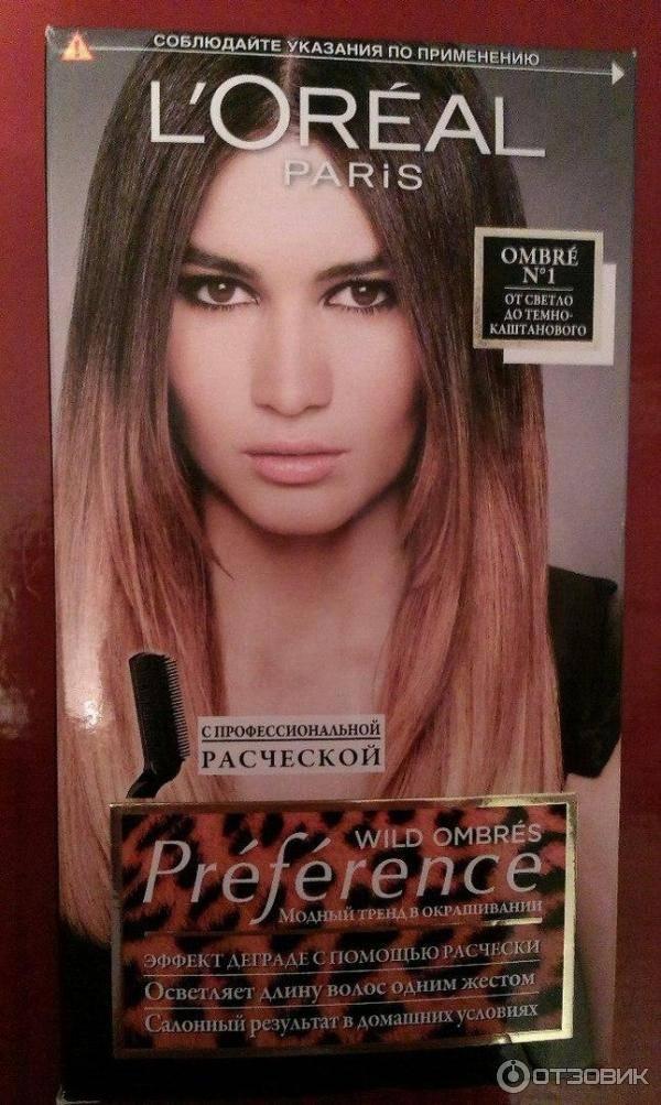 Палитра цветов краски для волос лореаль преферанс