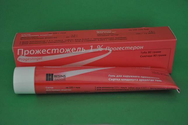 Гормональный наружный препарат прожестожель: инструкция и отзывы