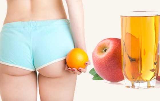 Яблочный уксус от целлюлита