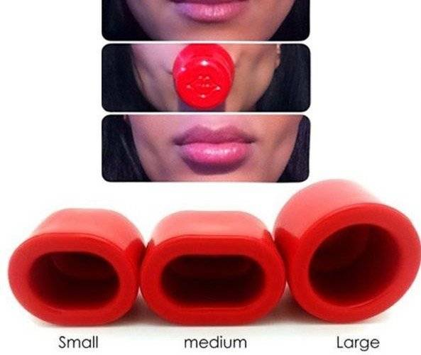 Присоска для увеличения губ
