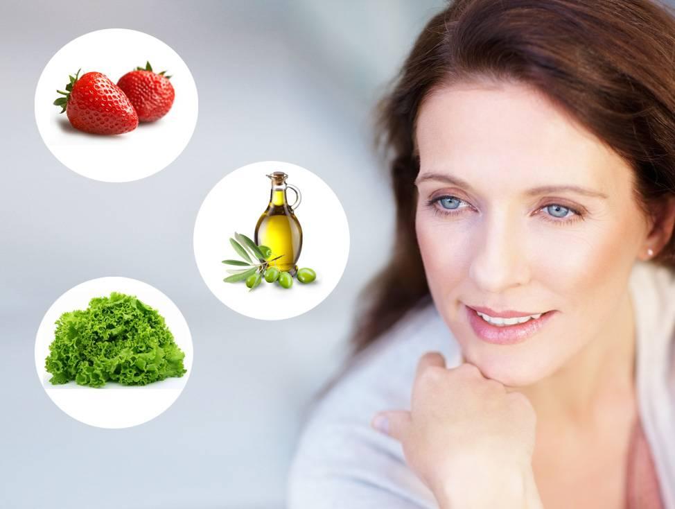 Диета для красивой кожи лица: меню с рецептами