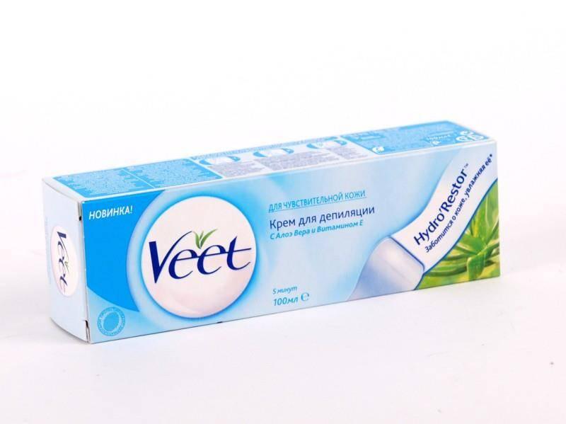 Как пользоваться кремом для депиляции veet для интимных зон