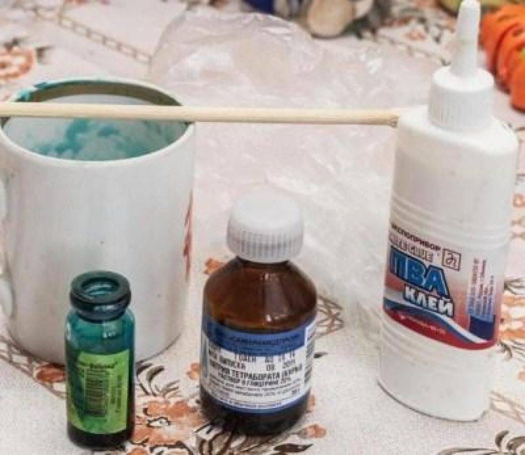 Что такое тетраборат натрия и как сделать слайм на его основе? множество отличных простых рецептов