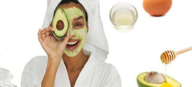 Маски из авокадо для лица от морщин и прыщей: приготовление в домашних условиях