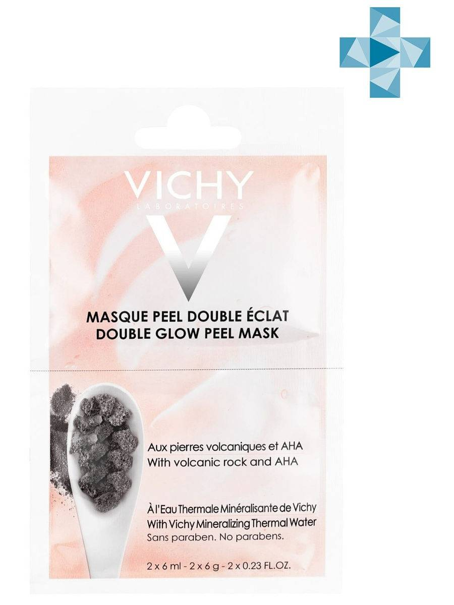 Vichy «двойное сияние» — маска-пилинг для лица