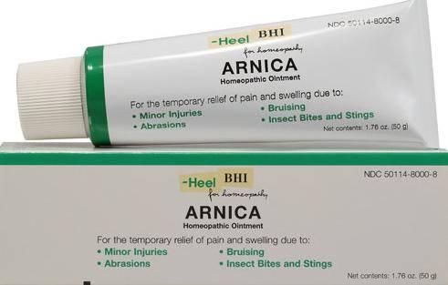 Арника для лечения травм, кровотечений и повреждений кожи