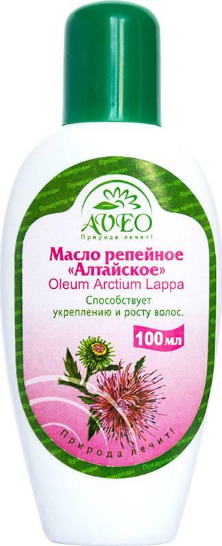 Репейное масло для красоты и молодости лица