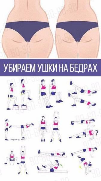Как убрать лишний жир с ляшек за неделю: самые эффективные упражнения