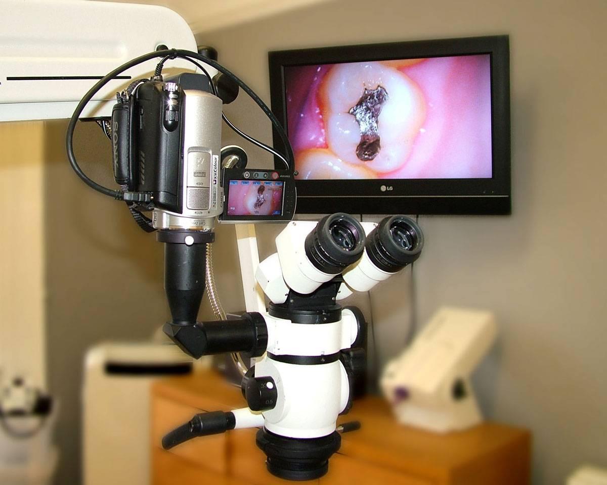 Как используется дентальный микроскоп в стоматологии?