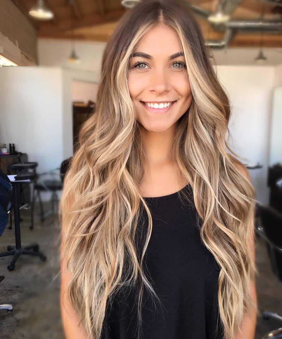 Окрашивание шатуш на темные волосы с фото и видео