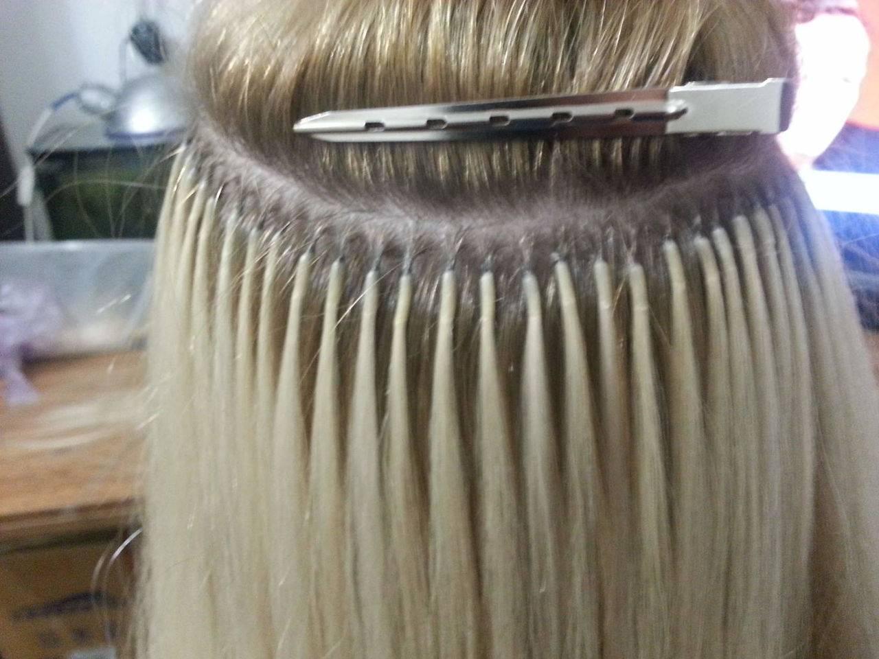 Что такое капсульное наращивание волос, и как его делают