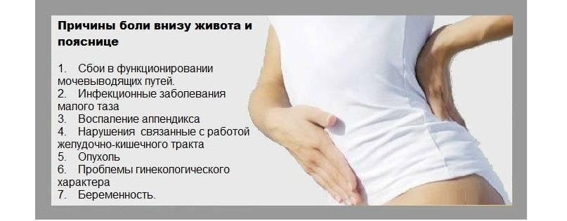 Почему перед месячными болит поясница, характер болевых ощущений в норме