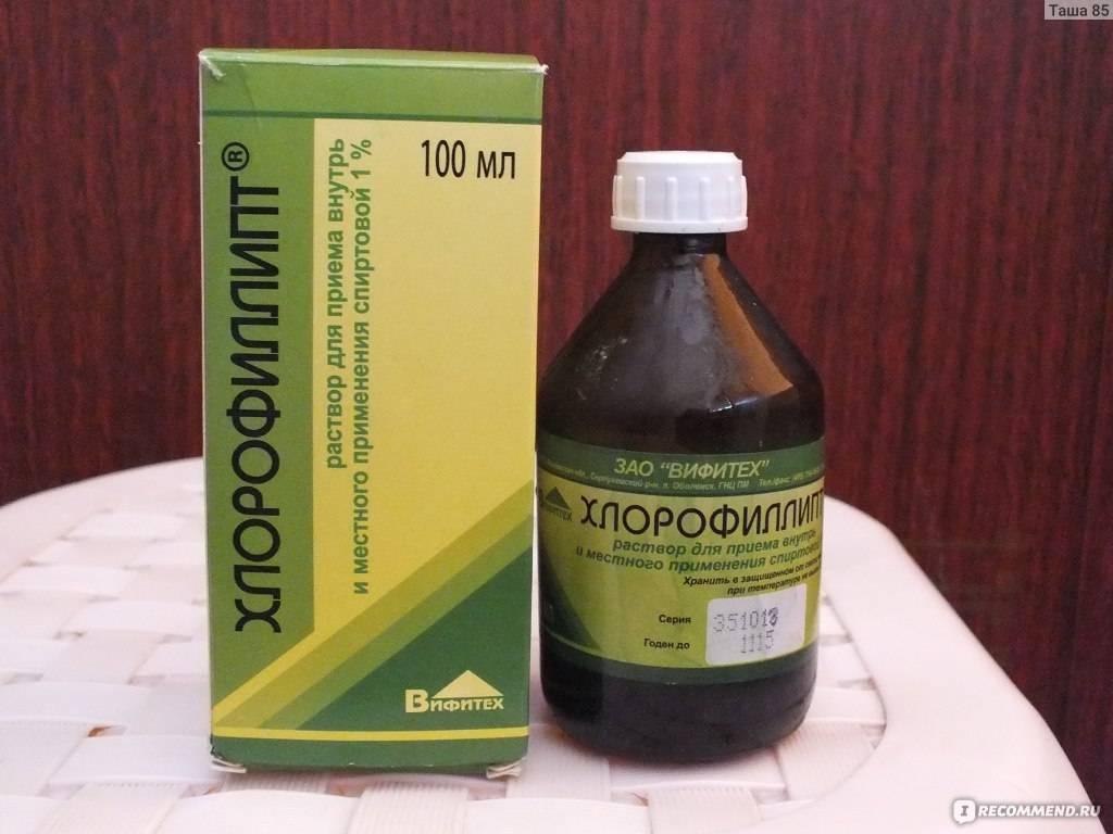 Хлорофиллипт для десен: назначение и применение