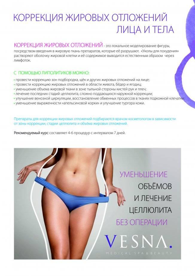 Виды аппаратных процедур для похудения