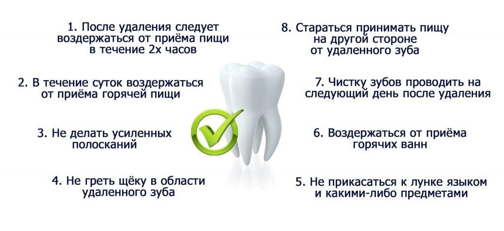 Причины повышения температуры после удаления зуба мудрости?