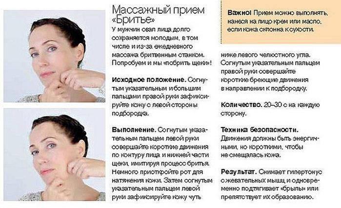Брыли на лице как избавиться упражнения