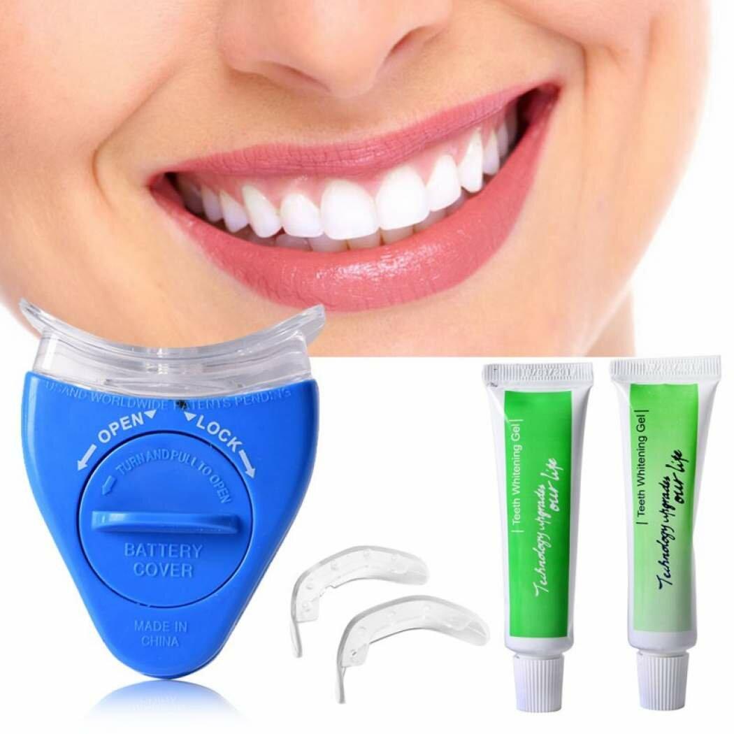 Капы для отбеливания зубов: принцип действия и виды