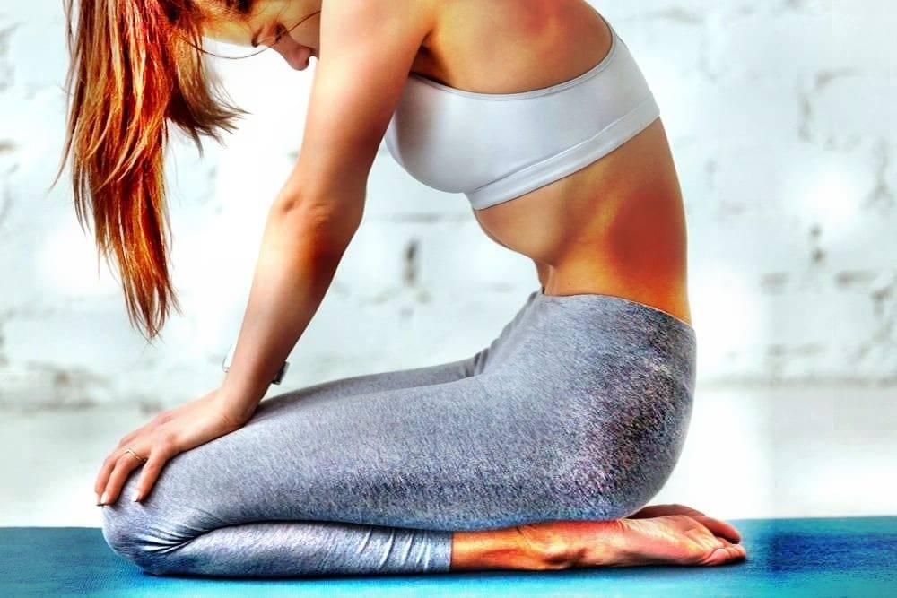 Вакуум живота. простое упражнение для здоровья и пресса.