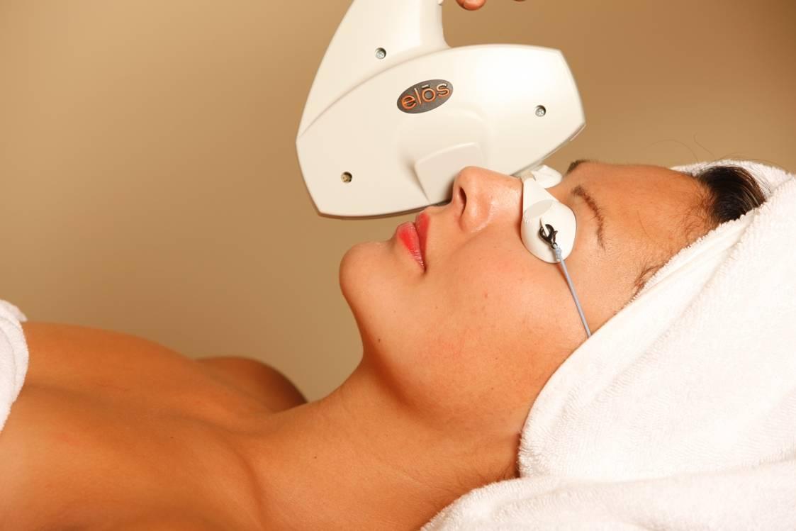 Как происходит элос-омоложение кожи?