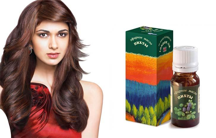 Применение пихтового масла для волос